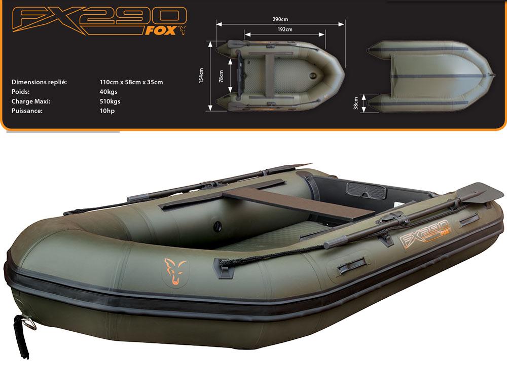 bateau de peche fox