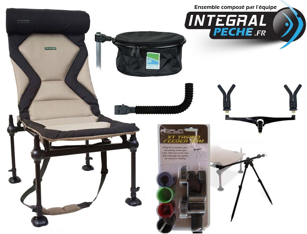 pack chaise korum et accessoires p che feeder 2 cannes integral p che. Black Bedroom Furniture Sets. Home Design Ideas