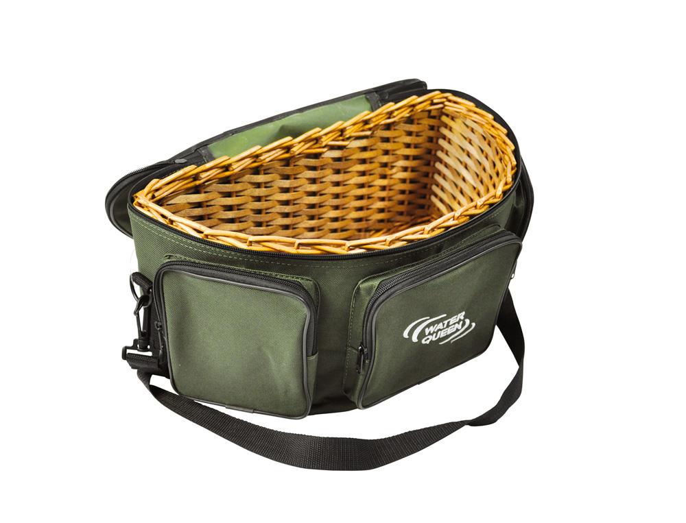 panier truite basket 3 poches waterqueen integral p che. Black Bedroom Furniture Sets. Home Design Ideas