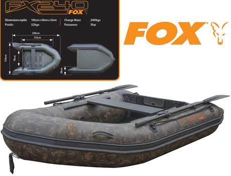 Bateau gonflable Fox FX240 Camo Inflatable Boat