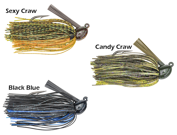 Hack Attack Strike King Heavy Cover Jig 14g.