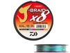 Tresse Daiwa J-Braid Grand X8 300m. multicolore