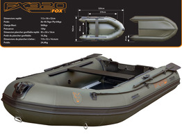Bateau gonflable Fox FX320 Inflatable Boat