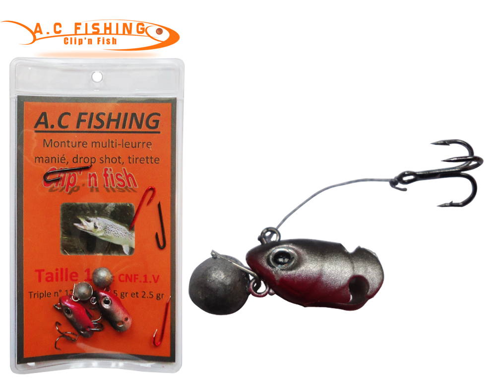 Monture AC Fishing multi-leurre