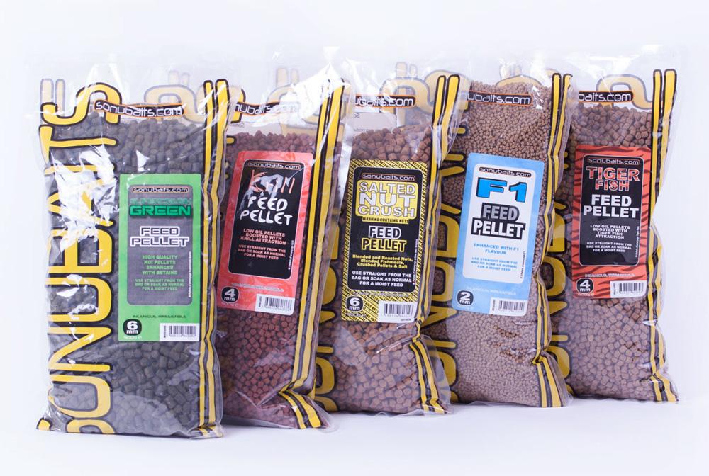 Des pellets Sonubaits utilisables pour toutes les pêches.