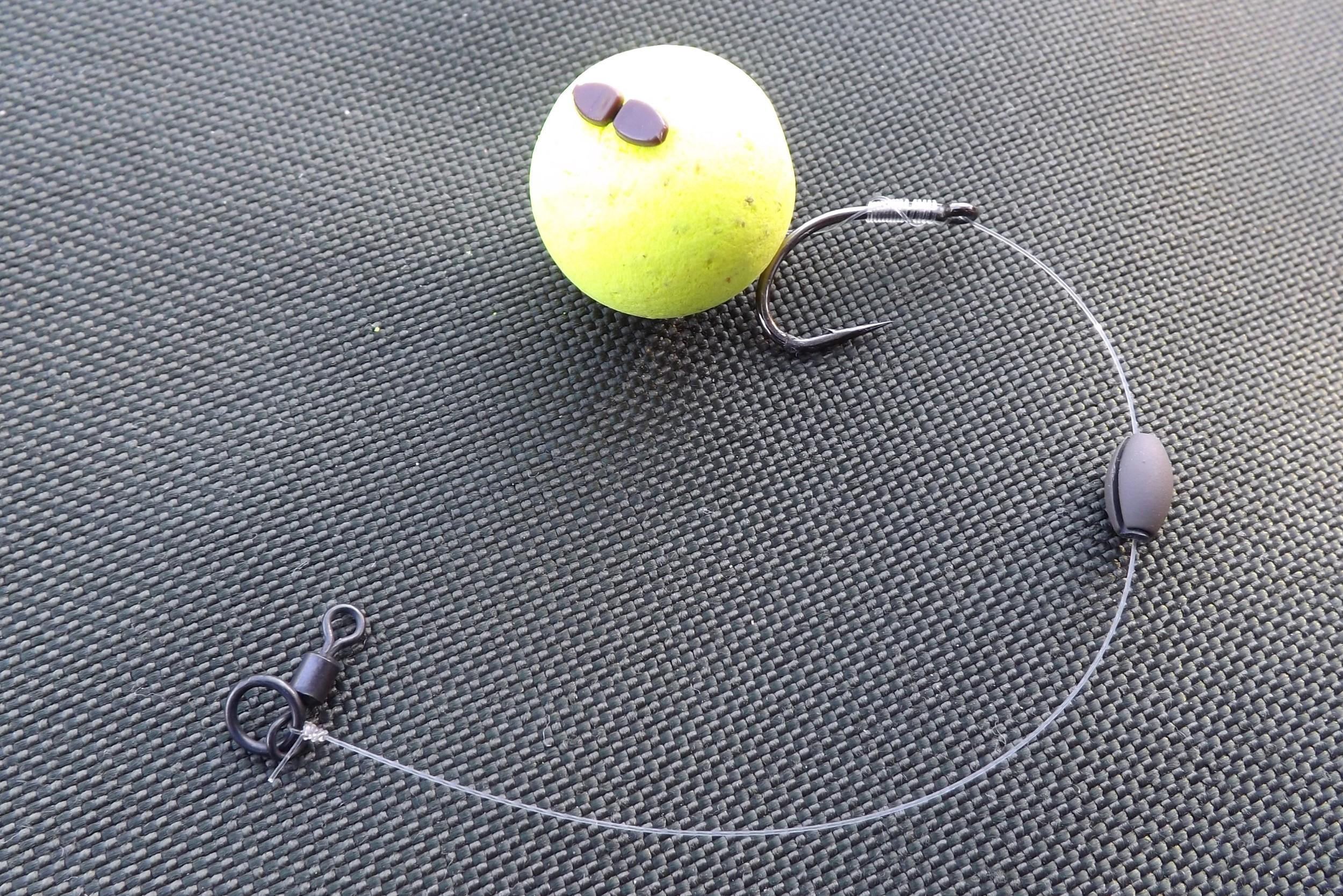 Pop-up et pêche au method feeder.